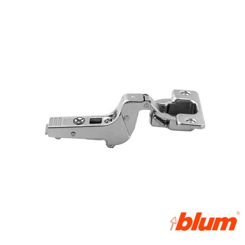 Bisagra superacodada Blum Clip Top Ø35 mm. de  95º para grandes espesores y molduras. Apertura Estándar.