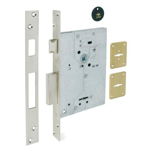 Cerraduras CISA Embutidas Gorjas Doble Pala Modelo 57250 Golpe y llave