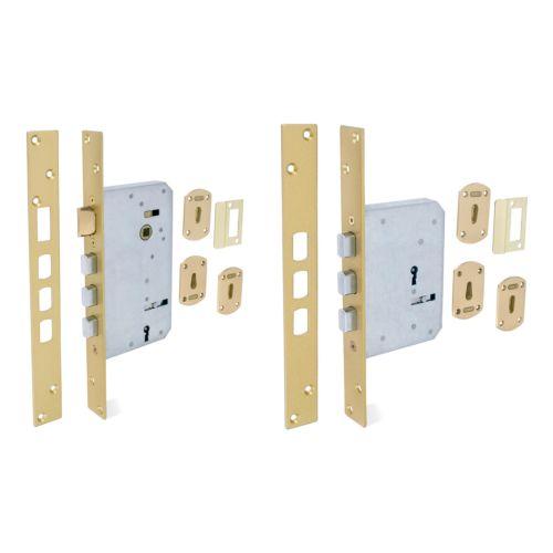 Cerraduras Embutidas Gorjas ARCU 308 Golpe y llave + solo llave