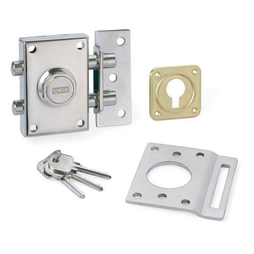 Cerradura Sobrepuesta para Puertas YALE-AZBE 16-O - Antipalanca