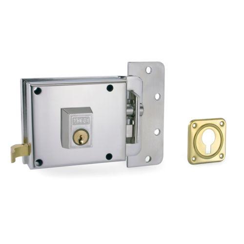 Cerradura Sobrepuesta YALE-AZBE R/6 - Golpe y llave sistema antipalanca