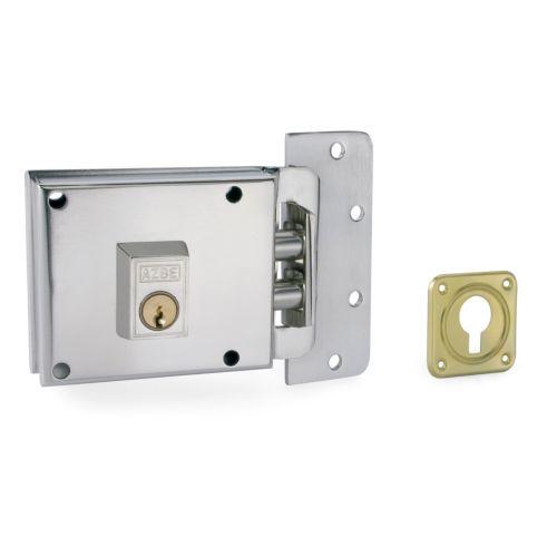 Cerradura Sobrepuesta YALE-AZBE R/6-0 - Sólo llave sistema antipalanca