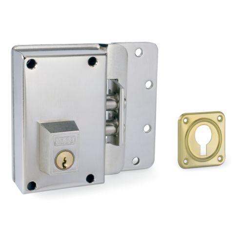 Cerradura Sobrepuesta YALE-AZBE R/10-0 - Sólo llave sistema antipalanca