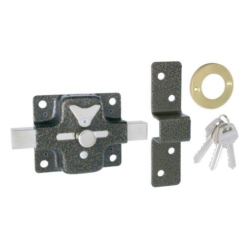 Cerradura Sobrepuesta para Puertas EZCURRA 400