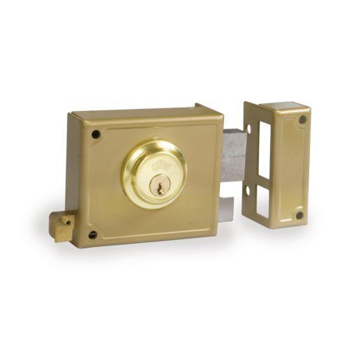 Cerradura Sobrepuesta JIS R/12 Golpe y llave