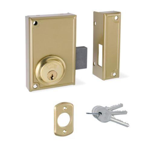 Cerradura Sobrepuesta JIS R/33 Sólo llave