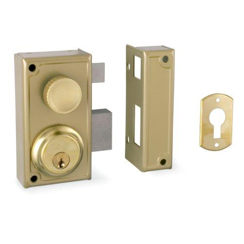 Cerradura Sobrepuesta JIS R/34 Golpe y llave