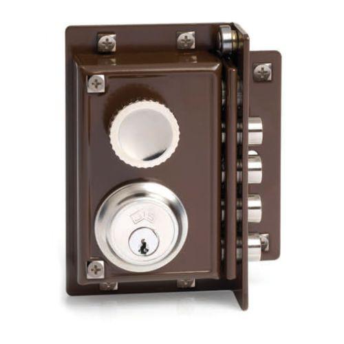 Cerradura Sobrepuesta JIS R/240 - Golpe y llave