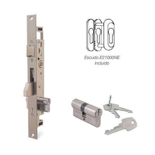 Cerraduras Embutidas Golpe y Llave 3 Puntos -TESA 2230 - 3 Puntos varillas