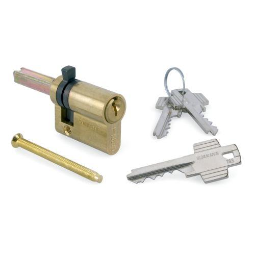 Cilindro TESA 5520 - CUADRADILLO + 2 levas con llave de serreta