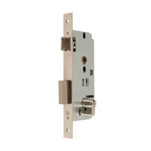 Cerraduras Embutidas Golpe y Llave MCM 1601 Reversible Con Cilindro