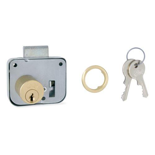 JIS - Cerradura sobrepuesta para cajón o puerta