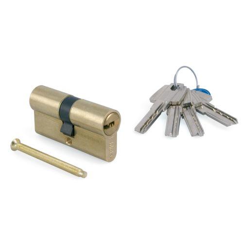 Cilindro TESA T60 - Bombillo de 6 pitones con llave de puntos