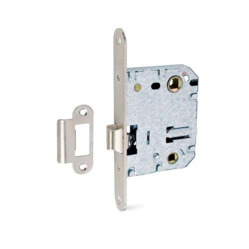 Picaportes Caja TESA 134-U Reversible Con bloqueo en golpe para muletilla a 70 mm