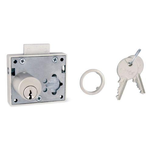 Cerradura Sobrepuesta OJMAR - Para puerta y cajón