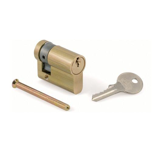 HOMOLOGADO AGUA, GAS Y LUZ - Medio cilindro con llave homologada para servicios públicos