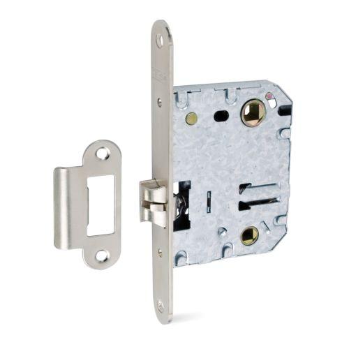 Picaportes de Caja TESA 134U-5O Reversible Silencioso Con bloqueo en golpe para muletilla a 70 mm