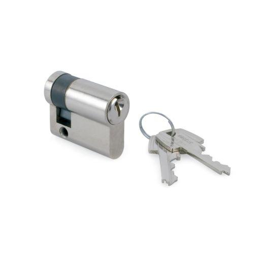 Cilindro TESA 5030 - Medio cilindro con llave serreta