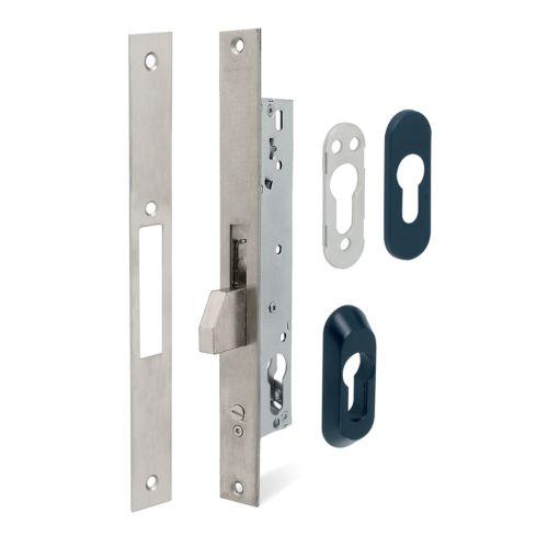 Cerraduras Embutidas Solo Llave - TESA 2211/3AI - Basculante Con Cilindro