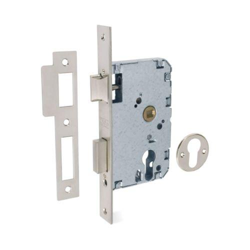 Cerraduras Embutidas Golpe y Llave TESA 2010-P Con Cilindro