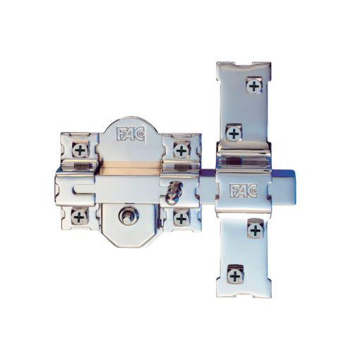 Cerradura Sobrepuesta para Puertas FAC 301RP/80 - Llave de seguridad