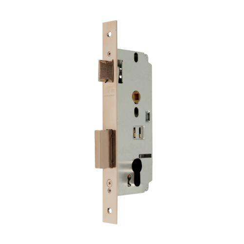 Cerraduras Embutidas Golpe y Llave MCM 1601 Reversible Sin Cilindro