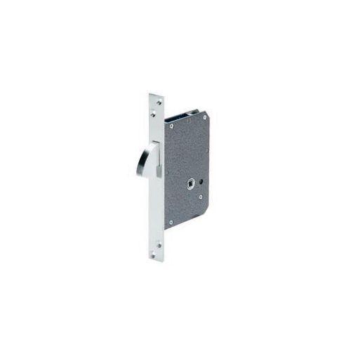 Cerradura de gancho con muletilla para puerta corredera