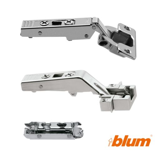 Fijaciones de puertas para sistema de Aventos HF Blum