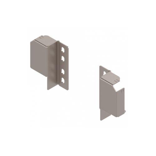 Blum - Soportes traseros para guardacuerpos ajustables de cajones Tandembox Antaro. Mano derecha + Izquierda