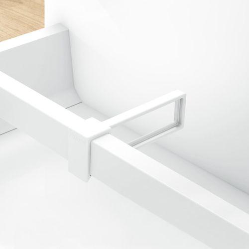 Divisor longitudinal para pletina separadora transversal Orgaline de cajones caceroleros Blum Tandembox