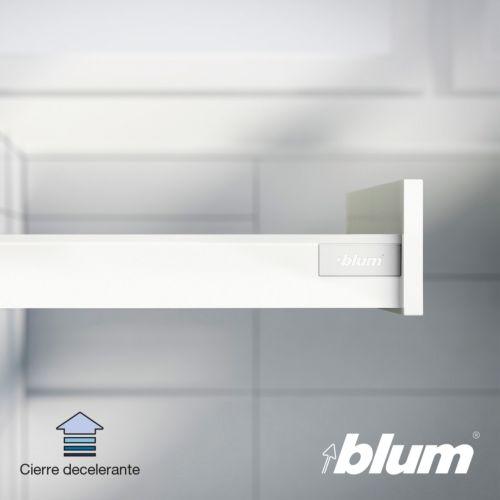 Kit para cajón BLUM Tandembox Antaro con cierre decelerante BLUMOTION - Perfil N=68,5 mm. - Hasta 30 Kg.