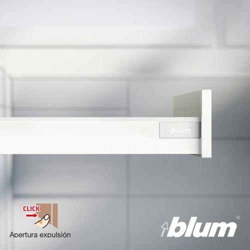 Kit para cajón BLUM Tandembox Antaro con apertura por expulsión TIP-ON y cierre decelerante BLUMOTION - Perfil N=68,5 mm. - Hasta 30 Kg.