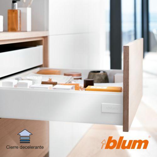 Kit completo cajón BLUM Tandembox Antaro con cierre decelerante BLUMOTION - Perfil K=115,6 mm. - Máx. 30 Kg.