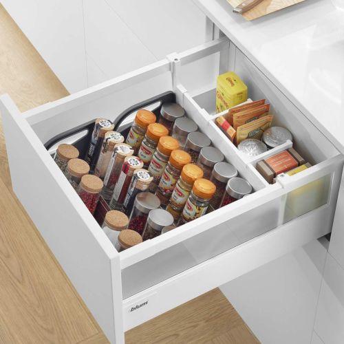 EUROBOX PLUS - Especiero Blum Orga-Line para interior de cajón alto