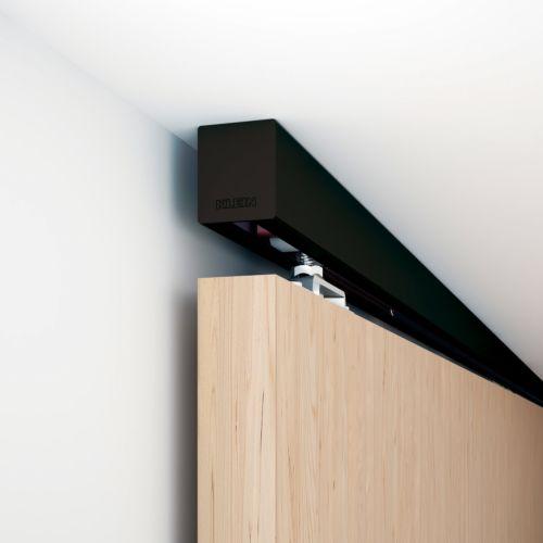 Klein LITE 60/100 - Guías y herrajes sobrepuesto y retráctil para puertas correderas de 60 y 100 Kg.