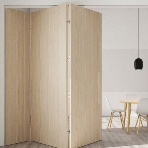 SLID FOLD 150 para puertas plegables de 2 a 5 paneles hasta 150 Kg
