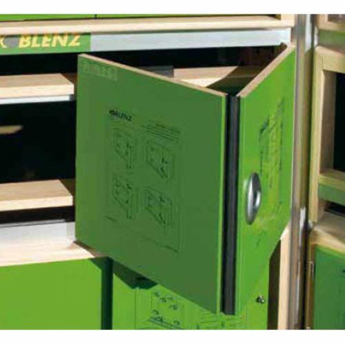 Guías y herrajes puertas correderas plegable SERIE 2200 para 20 Kg por hoja