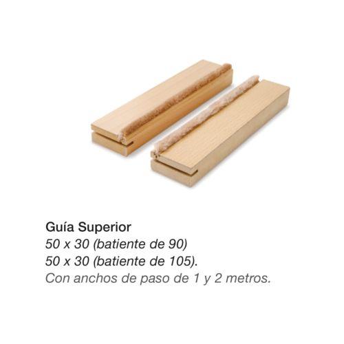 Jambas Hoja úNICA REVOQUE 105 de 2 mts para puertas de madera