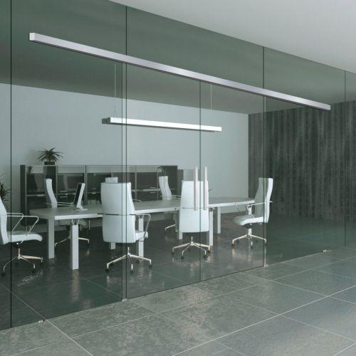 KIT UNIKMATIC AIR - Sistema de apertura simultánea 2 hojas móviles de cristal en paredes de cristal
