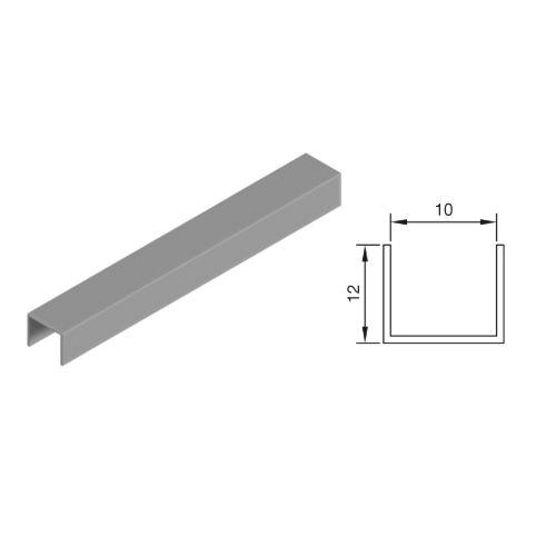 Kit perfil U para puertas armario ATLANTICO - G10 Minimalista