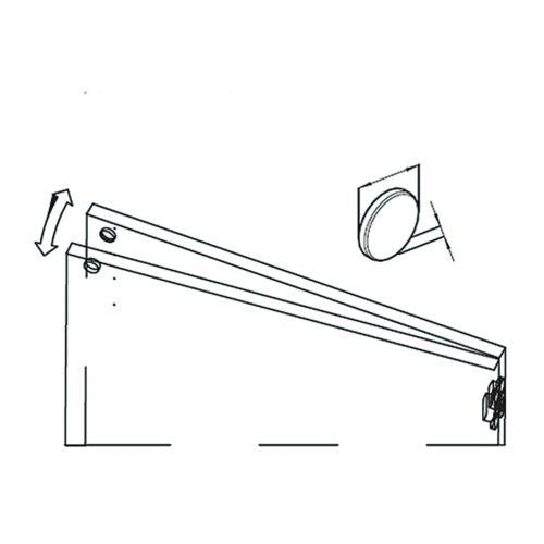 Kit imanes para puertas DARWIN Dobles