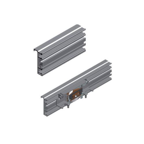 Kit perfil horizontal CLASS para puertas revestidas de aluminio o madera