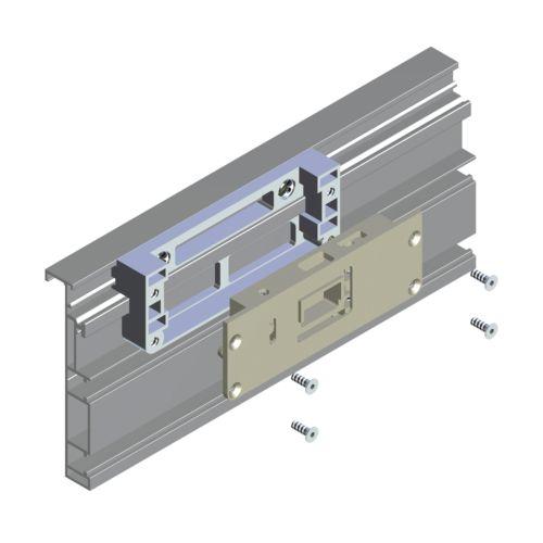 Kit perfil horizontal COPLANARES para puertas revestidas CLASS