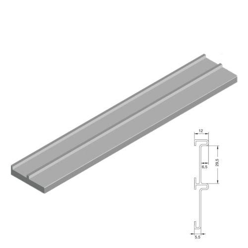 Batientes de aluminio para armarios de dos hojas ATLÁNTICO