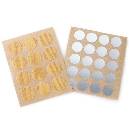 Tapones adhesivos para tornillo Ø25 mm.