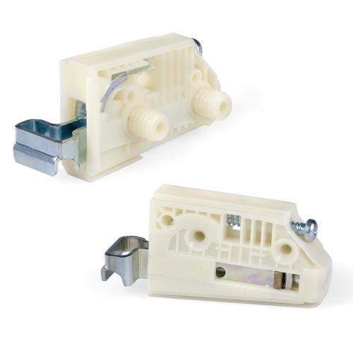 CAMAR PLUS - Colgador fijación con tornillo o con tetón 10 mm.