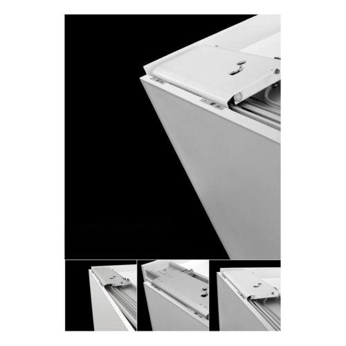 SLIDER M35 - Sistema oculto puertas correderas planas para armarios de 2 puertas de hasta 35 kg.
