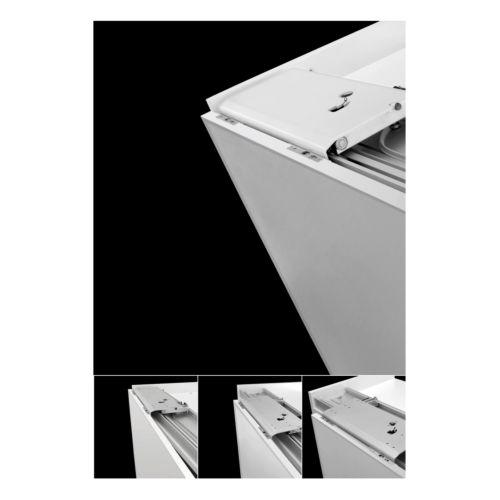 SLIDER M50 - Sistema oculto corredera planas para armarios de 2 puertas de hasta 50 kg