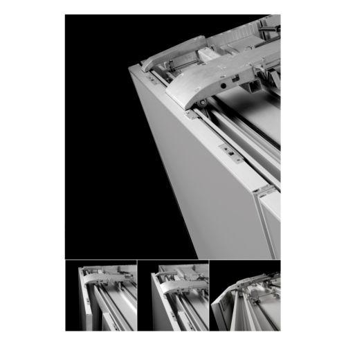 SLIDER L70 FLEX - Para armarios de 2 puertas de hasta 70 kg