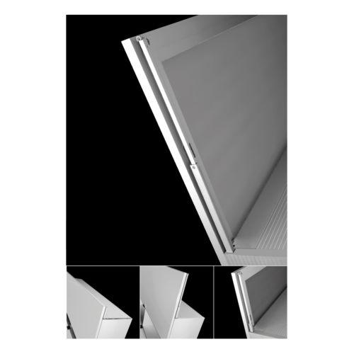 MOVER - Sistema de apertura corredera vertical contraequilibrado con un resorte